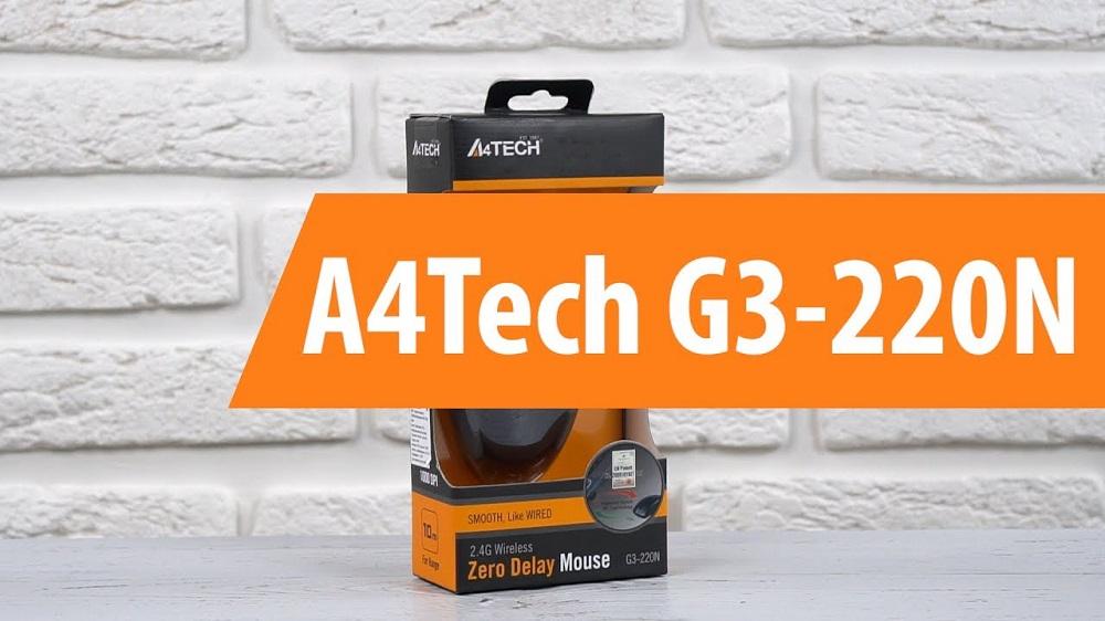 a4tech g3 220n 1 - ماوس بی سیم ای فورتک مدل G3-220N