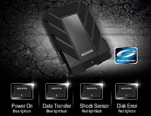 adata hd710pro 1tb ss pressimages g shock sensor 1 - هارد اکسترنال ای دیتا مدل HD710 Pro ظرفیت 1 ترابایت