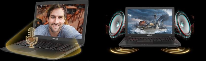 asus fx553vd مشخصات و قیمت لپ تاپ 8 - لپ تاپ ۱۵ اينچي ايسوس مدل ROG FX553VD – C