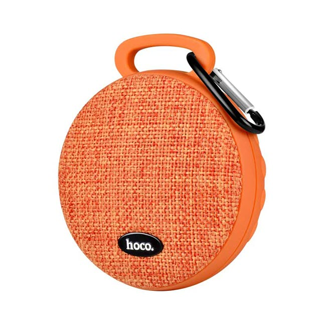 bs7 mobu sport bluetooth speaker orange - اسپیکر بلوتوثی قابل حمل هوکو مدل BS7