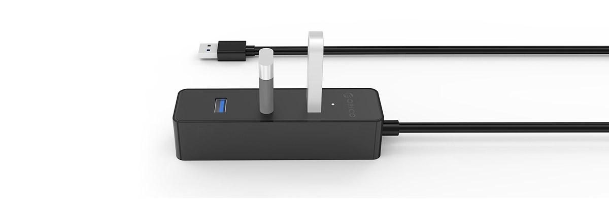 usb 3.0 چهار پورت اوریکو مدل w5ph4 u3 v1 2 - هاب USB 3.0 چهار پورت اوریکو مدل W5PH4-U3-V1