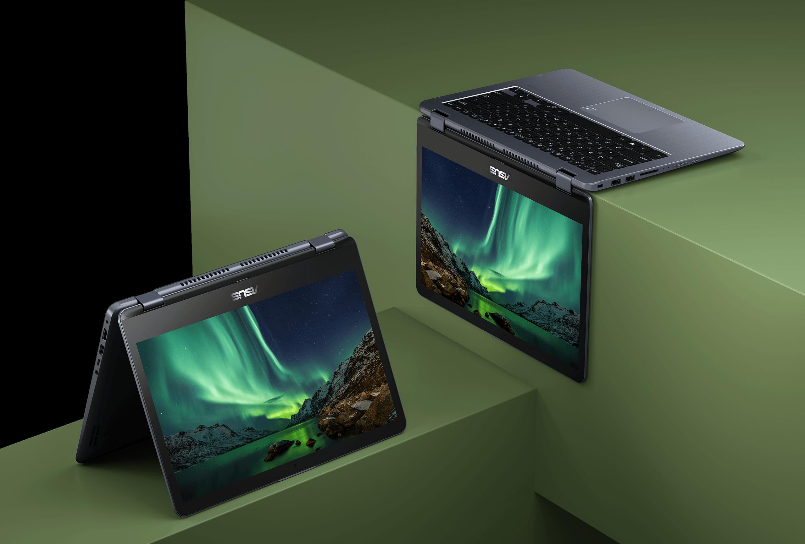 2 - لپ تاپ 14 اینچی ایسوس مدل TP410U - A