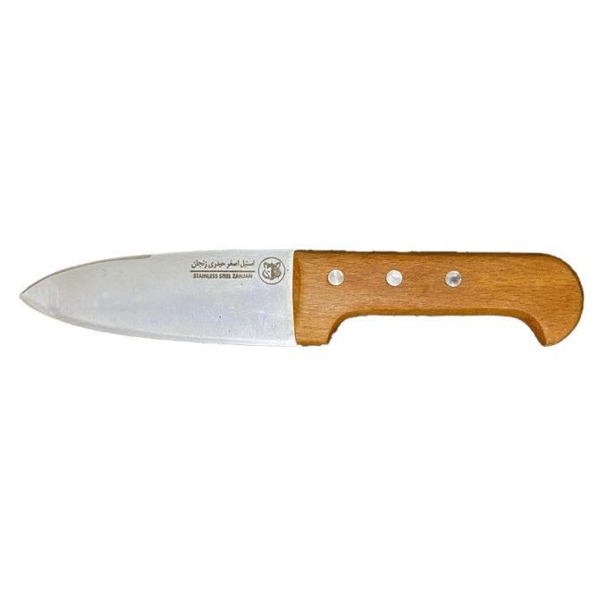 سلاخی اصغر حیدری زنجان 2 670x670 - چاقو سلاخی اصغر حیدری زنجان - سایز متوسط