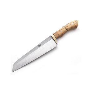 قصابی تیغه فولاد استاد جوزی 2 300x300 - چاقو راسته تیغه فولاد استاد جوزی